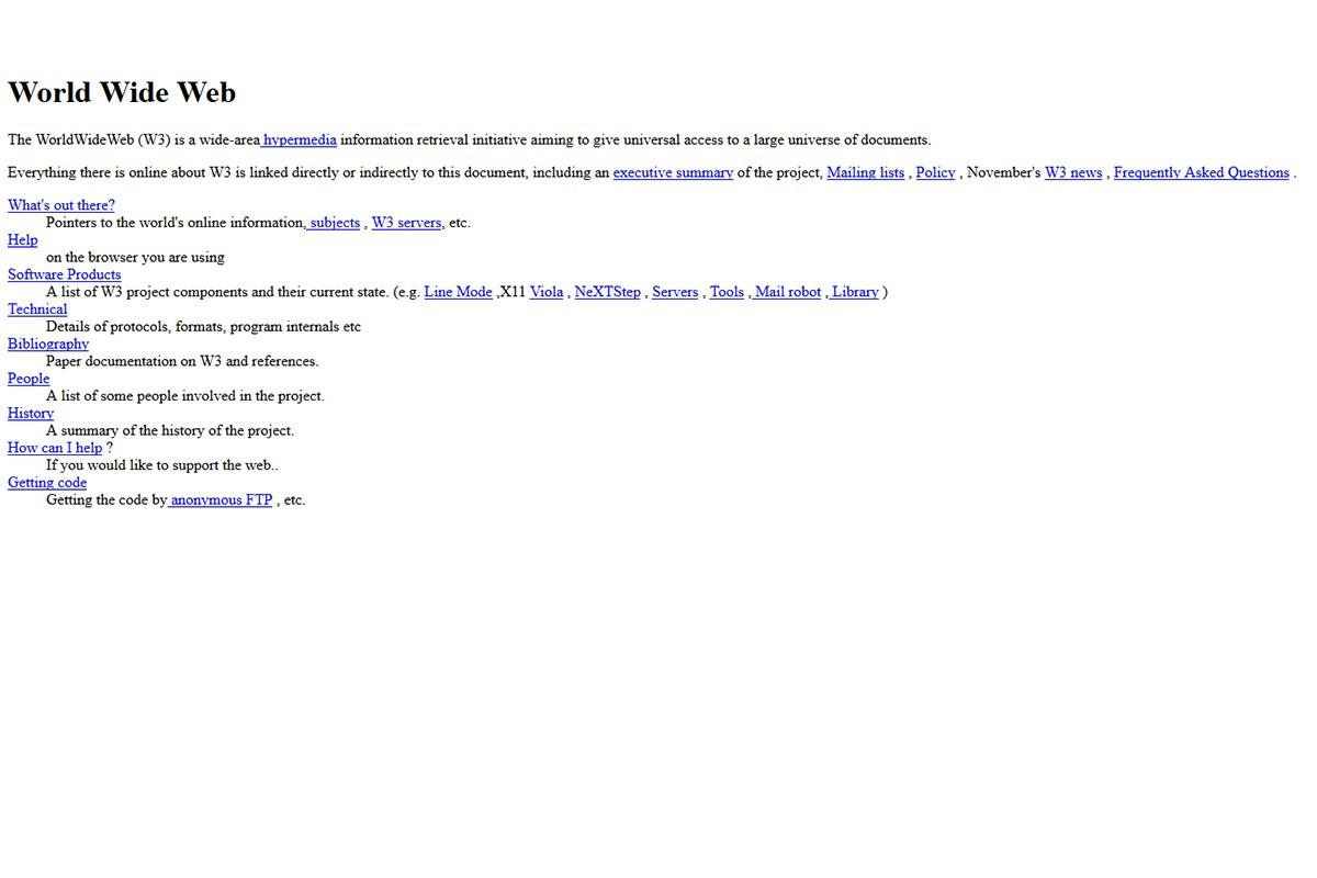 World Wide Web Story - 001